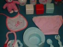 Набор для пупса, обучающая таблица, шар-пазл