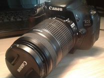 Фотоаппарат Canon EOS 600D EF-S 55-250mm
