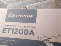 Триммер электрический Чемпион