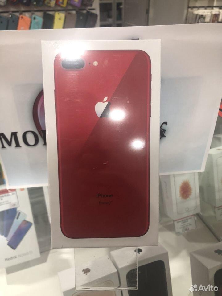iPhone 8Plus -64g Red Гарантия год  89888351291 купить 2