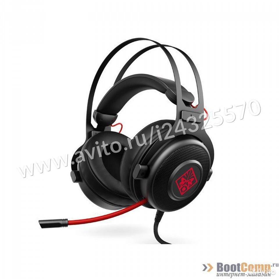 Игровые наушники с микрофоном HP omen 800  84012410120 купить 2