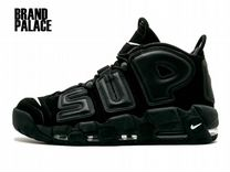 Nike Air More Uptempo x Supreme Black