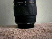 Объектив Sigma DG 70-300mm 1:4-5.6
