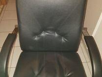 Кресло нат.кожаное компьютерное