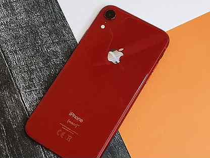 iPhone XR 64GB Red / Ростест / Оригинал