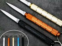 Нож-брелок тактический портативный