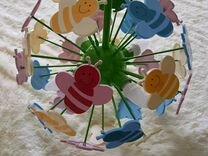 Люстра детская подвесная пчелки