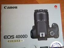Canon зеркалка 4000d