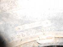Шина на внедорожник 265 70 17 континенталь