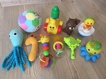 Пакет игрушек для деток 0+