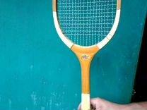 Ракетка для тенниса советского времени