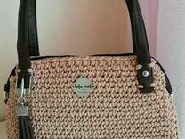 Летняя женская сумка ручной работы
