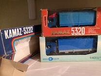 Камаз 5320 и 53212 с тентами