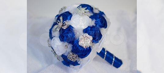 Свадебный брошь-букет, букет невесты купить в Новосибирской области | Личные вещи | Авито