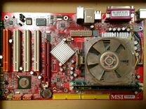 Athlon 64 3000 мать, проц, память, винчестер