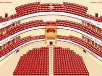 Кармина Бурана.25 июня в Большом театре