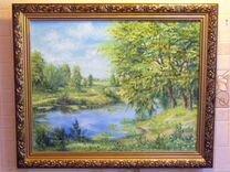 Продам картину с летним пейзажем