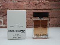 Духи Dolce Gabbana The one, Дольче Габбана тестер