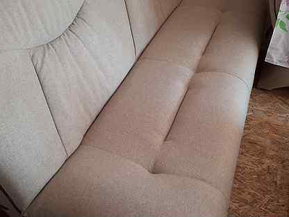 Срочномягкая мебель диван+2кресла