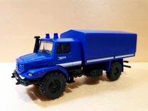 Модель грузовика Mercedes Benz Zetros (Herpa) 1:87