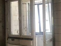 Балконная дверь и окно двустворачатое, 2 комплекта