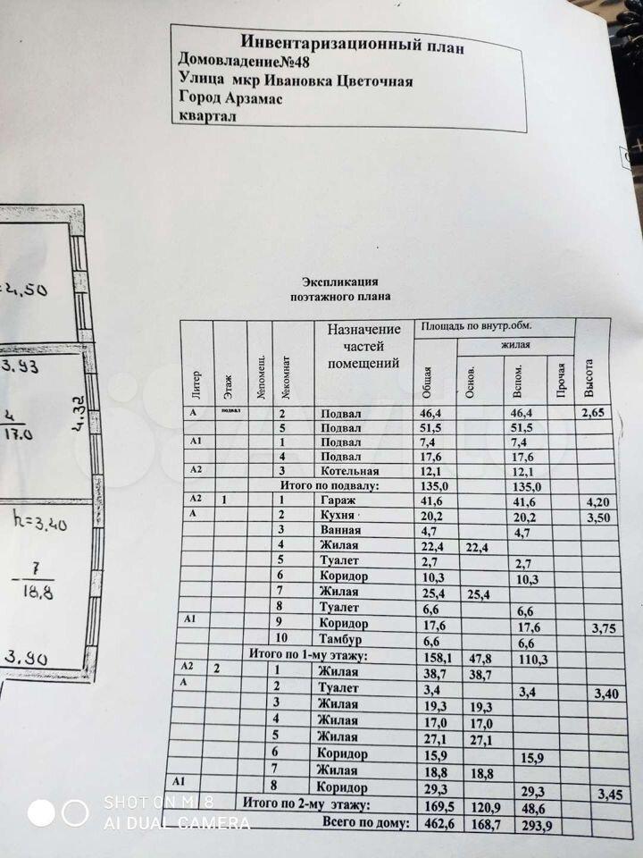 Своб. планировка, 120 м², 2/2 эт.  89587490315 купить 5